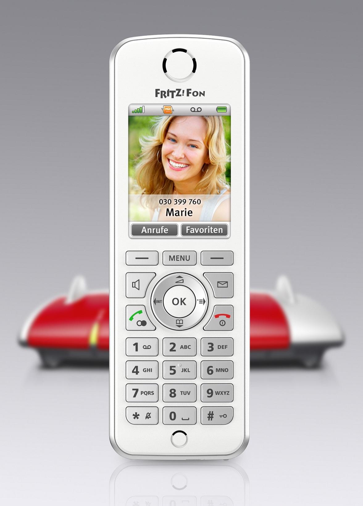 FRITZ!Fon C4: Kwintesencja wszechstronności – telefonia i sieć domowa